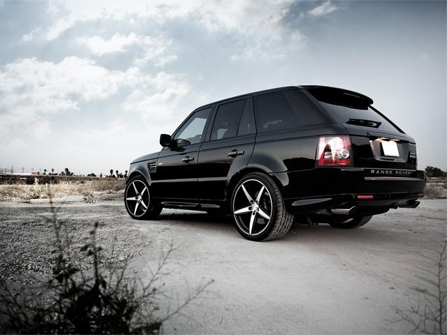 Range Rover Sport Wheels - Left Side w/Couture Wheels