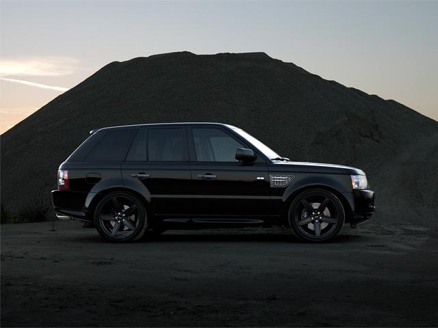 Range Rover Sport Wheels - Side shot w/Couture Wheels