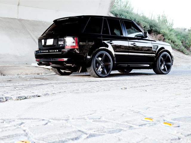 Range Rover Sport Wheels - Right w/Couture Wheels