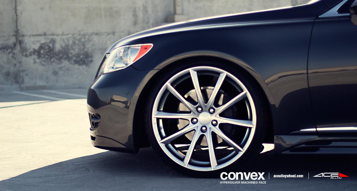 Lexus LS460 w/ 22″ Ace Convex Wheels | blog / acealloywheel